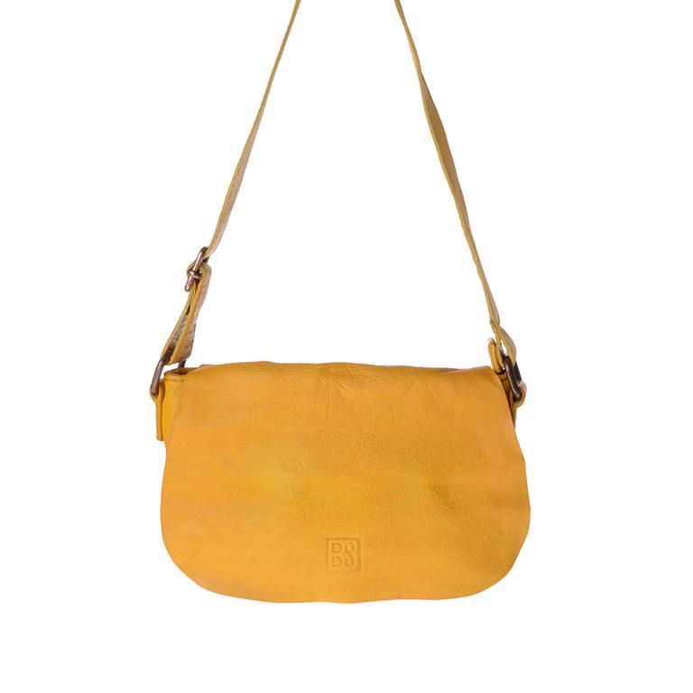 e9af20e6d7 Borsa A Tracolla Donna DuDu 5801077 Timeless Mini Bag Giallo Zafferano