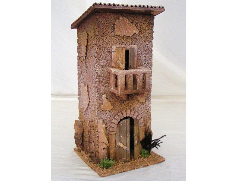 Decorazioni Casa In Montagna : Casa montagna con balcone cm decorazioni decoro presepe