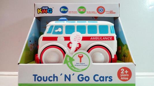 Touch 'N' Go Racers. Ambulanza Rossa