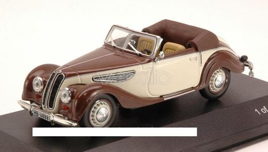 Wb087 Bmw 327 1939 Brown/Beige 1.43 Modellino White Box