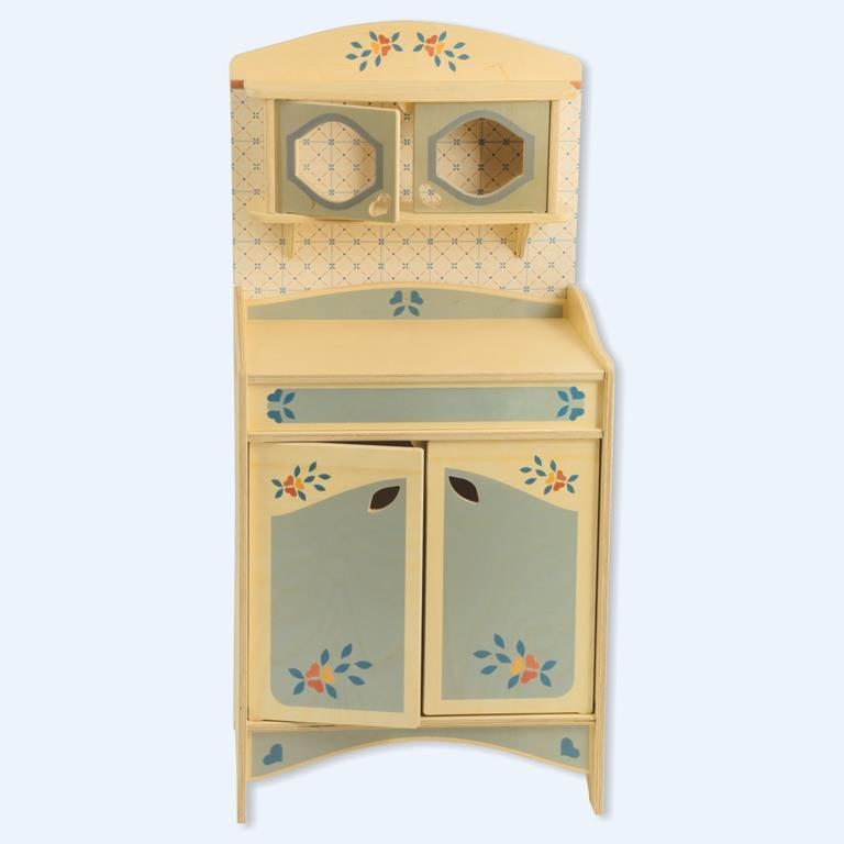 Mobiletto Credenza componibile giocattolo in legno per bambini Dida ...