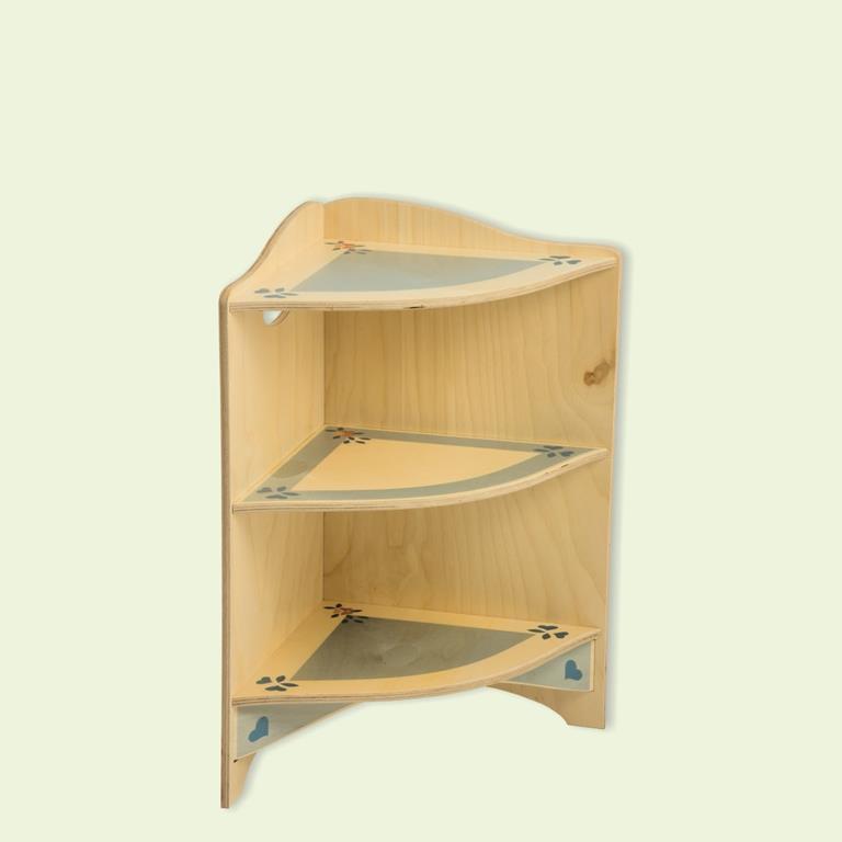 Mobiletto Angolo terminale componibile giocattolo in legno per ...