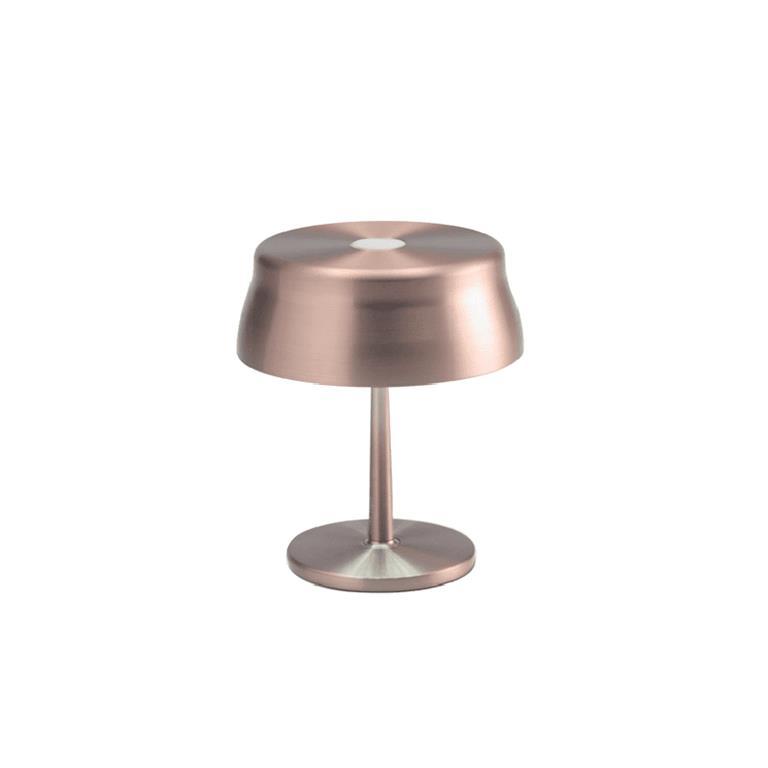 Ai Lati Sister Light Mini Lampada Da Tavolo Led Ricaricabile E Dimmerabile Per Uso Interno E Esterno Rame Anodizzato Ai Lati Lights Casa E Cucina Ibs