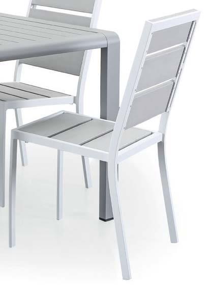 Sedie In Alluminio Per Cucina.4 Sedie In Alluminio E Legno Sintetico Modigliani Munus Casa E