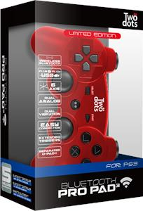 Pro Power Pad Ps3  Bluetooth  Red  Limited Edition