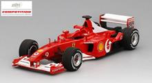 Ferrari F2002 Michael Schumacher Winner French Gp 2002 1:43 Model RIPBBR CS002