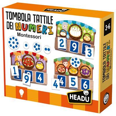 Tombola Tattile Montessori Dei Numeri