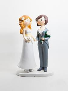 Cake topper Girls per mano