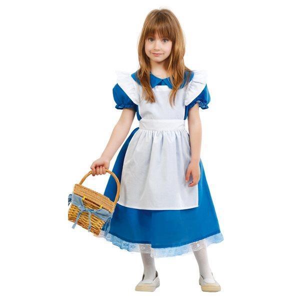 bc82b6f5215b Costume Alice nel Paese delle Meraviglie Bambina Small 5 - 6 Anni 110 - 115  cm
