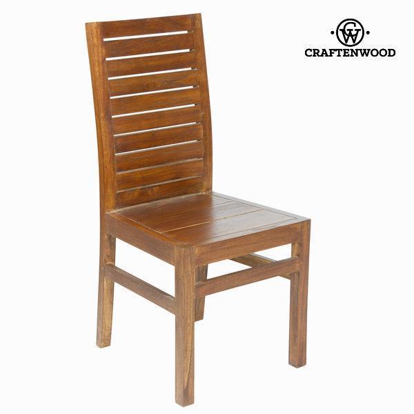 Sedia Da Sala Da Pranzo Legno Di Mindi 100 X 46 X 50 Cm Be Yourself  Collezione By Craftenwood
