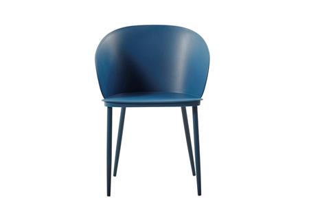 Sedie Blu Cucina : Sedia dalis set da pezzi colore blu scuro in polipropilene e