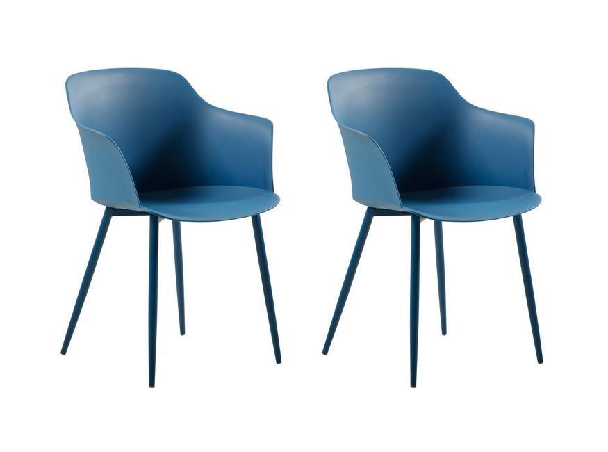 Sedie Blu Cucina : Sedia corona set da pezzi colore blu scuro in polipropilene