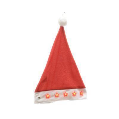 Cappello Babbo Natale con Stelle Luminose Led - Kaemingk - Idee ... d30860c83b4d