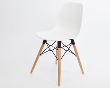 Sedia Design In Legno Bianca - Peraga - Casa e Cucina | IBS