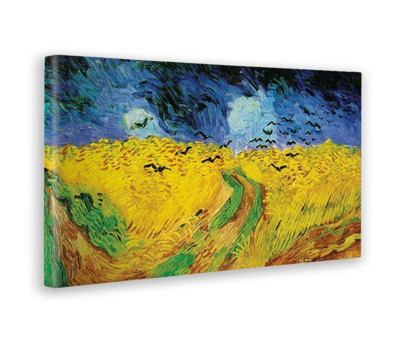 db97468bc4 Quadro. Stampa Su Tela Canvas. Vincent Van Gogh. Campi Di Grano Con ...