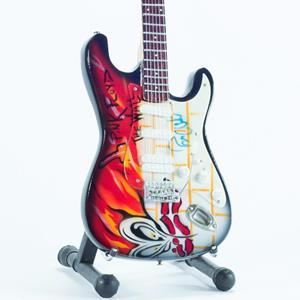 Pink Floyd. The Wall Tribute. Replica chitarra in miniatura exclusive