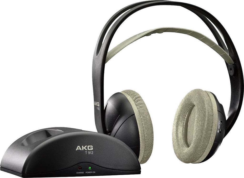 Cuffie Wireless Akg K 912 Base 864Mhz 3 In 1 Semiaperta Nero - AKG ... 8267942454cd
