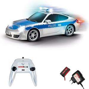 Carrera Radiocomandati. On-Road Porsche 911 Polizei 1:16 - 2