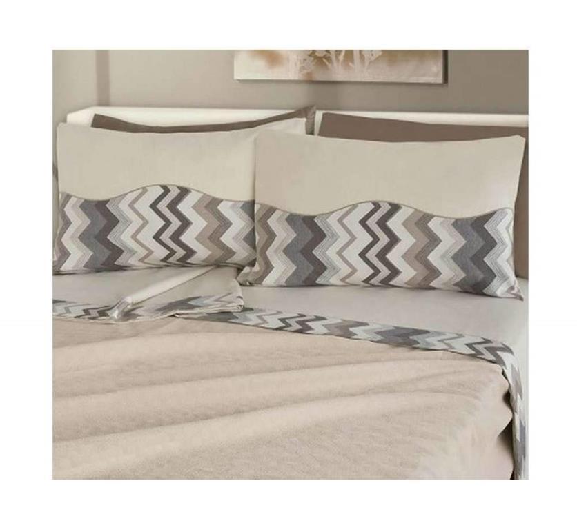 Elegante e raffinato completo lenzuola matrimoniale misura maxi in ...