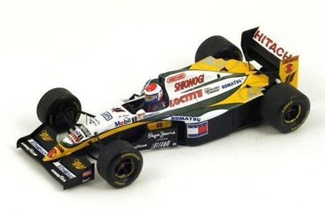 Spark Model S1678 LOTUS 109 ERIC BERNARD 1994 N.11 18th EUROPEAN GP 1:43 Modellino