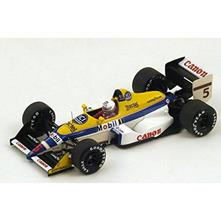Williams Fw12 M.Brundle 1988 #5 7th Belgium Gp 1:43 Model S4027