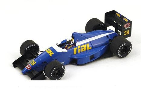 Spark Model S4313 RIAL ARC2 C.DANNER 1989 N.38 14th BRAZIL GP 1:43 Modellino