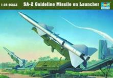 Sa-2 Missile With Launcher Cabin 1:35 Plastic Model Kit RIPTR 00206