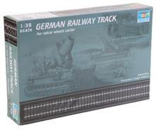 German Railway Track Set Binari Plastic Kit 1:35 Model TR 00213