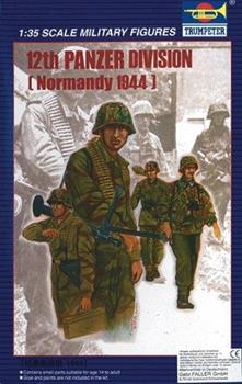 WWII 12th Panzer Division (Normandy 1944) Plastic Kit 1:35 Model TP0401