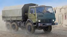 Russian Kamaz-4310 Truck 1:35 Plastic Model Kit RIPTR 01034