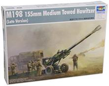 M198 155mm Medium Towed Howitzer Late Plastic Kit 1:35 Model TR 02319