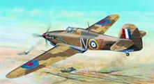 Hawker Hurricane Iid Trop Aircraft 1:24 Plastic Model Kit RIPTR 02417