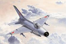 Mig-21 F-13/j-7 Fighter 1:48 Plastic Model Kit RIPTR 02858