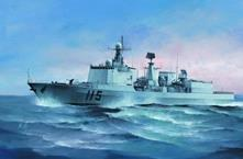The Pla Navy Type 051c Ddg-115 Shenyang 1:350 Plastic Model Kit RIPTR 04529