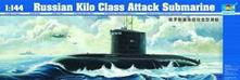 Russian Kilo Class Attack Submarine 1:144 Plastic Model Kit RIPTR 05903