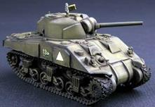 M4a (mid) Tank 1:72 Plastic Model Kit RIPTR 07223