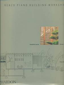Renzo Piano Building Workshop. Vol. 4 - Peter Buchanan - copertina