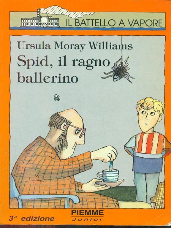 Risultato immagini per spid il ragno ballerino