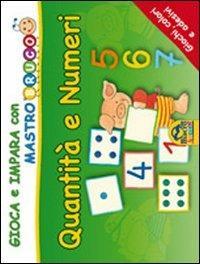 Quantità E Numeri Giochi Colori E Adesivi Gioca E Impara Con
