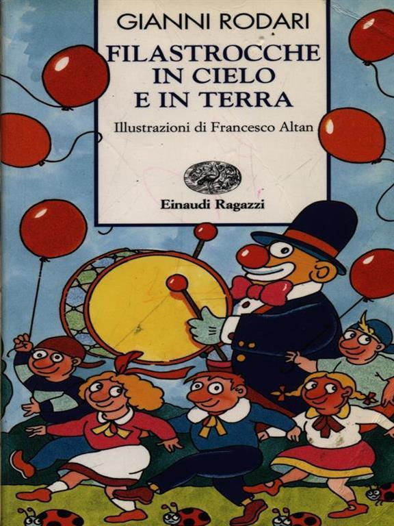 Filastrocche in cielo e in terra - Gianni Rodari - Libro - Einaudi ...