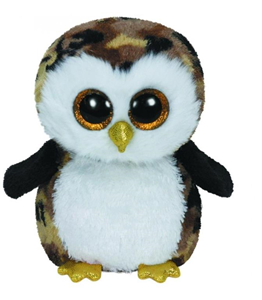 Giocattolo Peluche Beanie Boos Owliver Ty 1