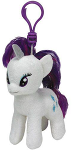 Giocattolo Peluche a Clip My Little Pony Rarity Ty 1
