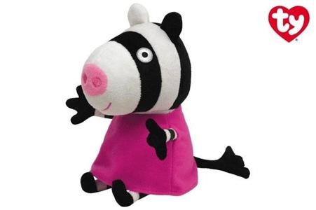 Giocattolo Peluche Peppa Pig Zoe Zebra Ty 1