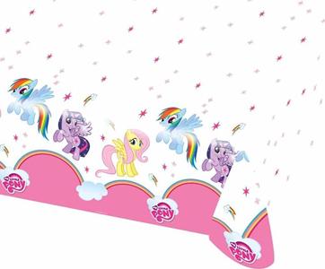 Giocattolo My Little Pony. Rainbow. Tovaglia Plastica 120x180 Cm Giocoplast 1