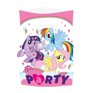 Giocattolo My Little Pony. Rainbow. 8 Sacchettini Giocoplast 1