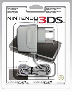Telefonia e GPS Nintendo Power Adapter for 3DS/DSi/DSi XL Interno Grigio caricabatterie per cellulari e PDA Nintendo