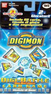 Giocattolo Digimon Battle Game Modello Base GIG 1