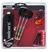 Giocattolo Set 3 freccette con punta in metallo, custodia e accessori Unicorn S400 Unicorn 1