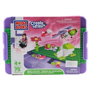 Giocattolo Valigetta gioca & vai! 80 Pezzi Mega Bloks 1