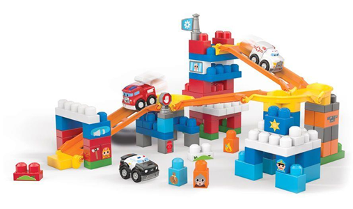 Giocattolo Mega Bloks. First Builders. Squadra di Soccorso Mega Bloks 1